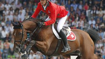 Olympiasieger Steve Guerdat auf Nino des Buissonnets