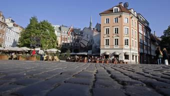 Platz in Rigas Altstadt