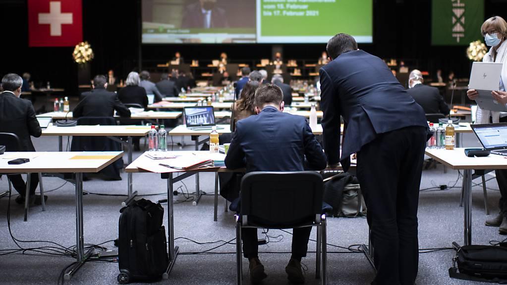 Der St. Galler Kantonsrat berät den Aufgaben- und Finanzplan für die Jahre 2022 bis 2024.