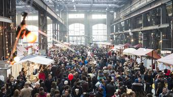 Das Street Food Festival am Puls 5 im Februar 2015 lockte viele Besucher an.