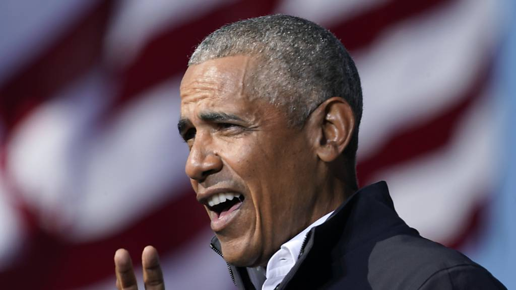 Ex-US-Präsident Barack Obama ruft die Amerikaner dazu auf, Joe Biden zu unterstützen. Foto: Brynn Anderson/AP/dpa