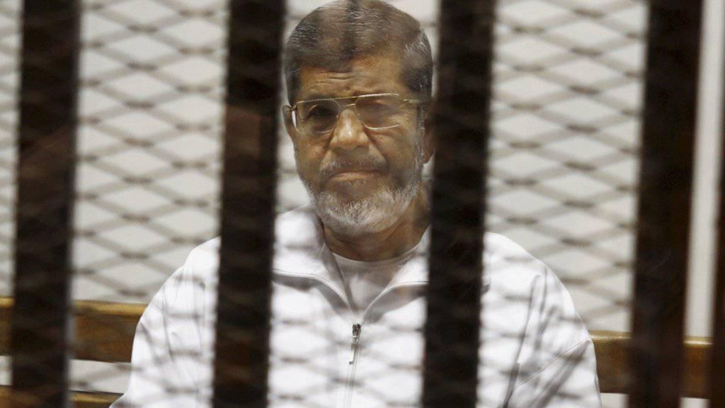Mursi wird für die Anwendung von Gewalt sowie Verhaftungen und Folterungen von Demonstranten während seiner Amtszeit mitverantwortlich gemacht.(Archivbild)