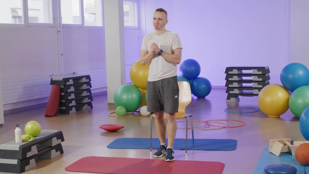 «Gymnastik im Wohnzimmer» vom 9. September 2021