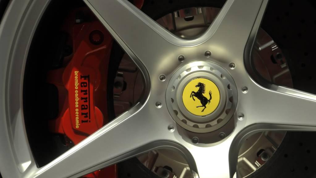 Der italienische Sportwagen-Hersteller Ferrari hat mit dem Manager Benedetto Vigna einen neuen Chef gefunden. (Archivbild)