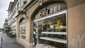 Die Bäckerei Schmutz in Basel an der Austrasse 53