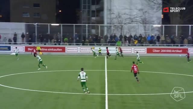 Challenge League, 2018/19, 18. Runde, SC Kriens - FC Aarau, 0:2 Petar Misic