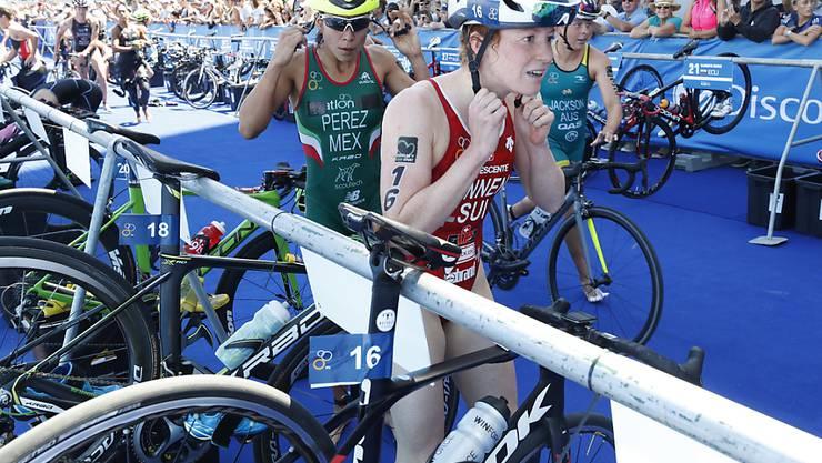Jolanda Annen misslang ihr Rennen komplett