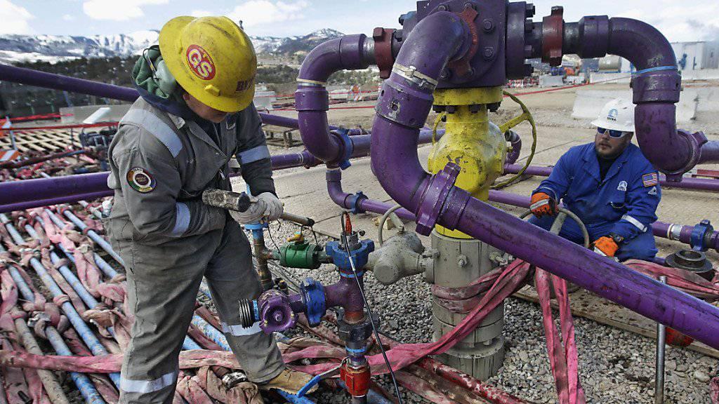 Fracking im US-Bundesstaat Colorado: Die Schieferölförderung lohnt sich kaum mehr, seit die Opec unter Federführung Saudi-Arabiens die Hähne weit aufgedreht hat (Archiv).