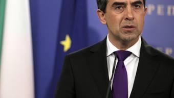 Der bulgarische Staatschef Rossen Plewneliew im Februar in Sofia