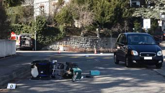 Der Rollstuhlfahrer wurde schwer verletzt.