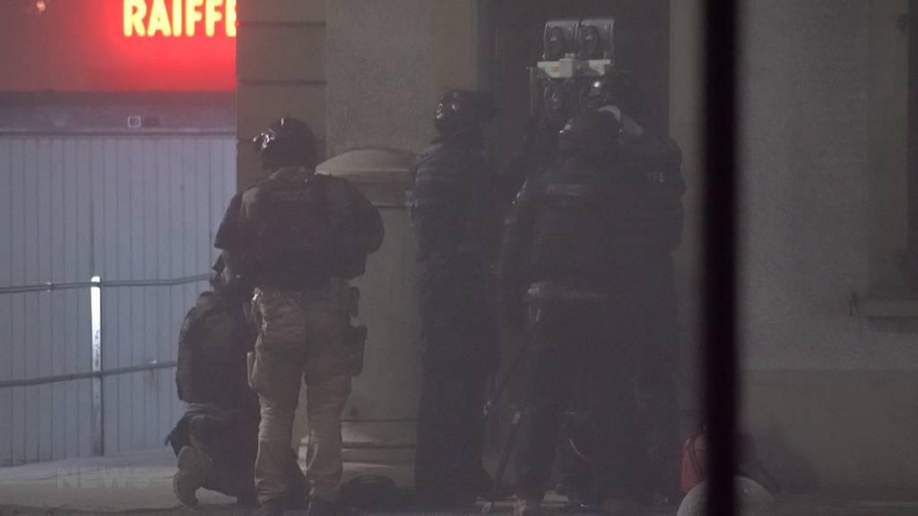 Drohungen in Boll: Nächtlicher Grosseinsatz für die Polizei