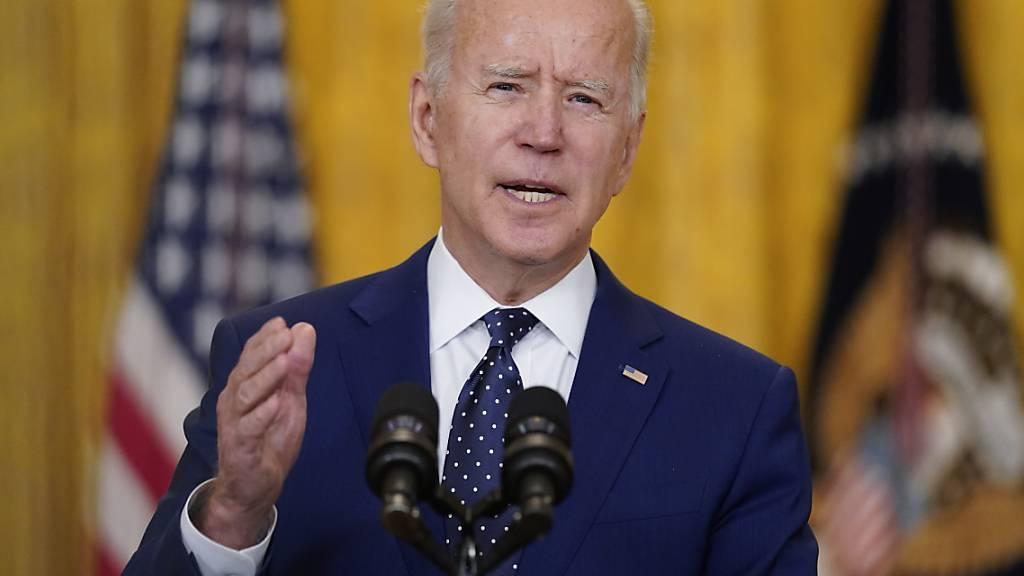 Biden: USA wollen Spannungen mit Russland nicht eskalieren