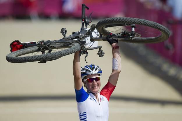 Die Französin Julie Bresset gewann die Gold-Medaille.