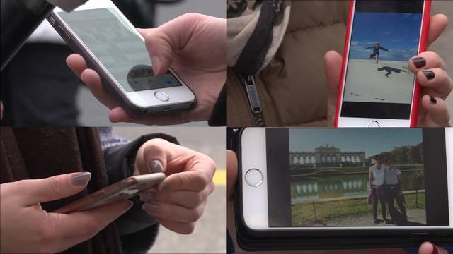 4 Smartphones - 4 Fotos - 4 Geschichten