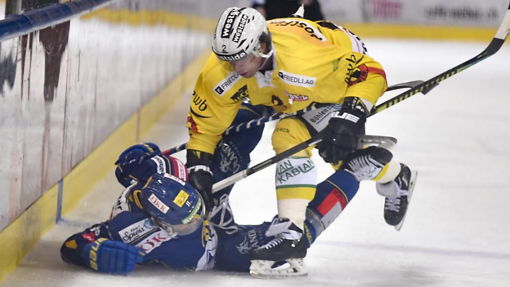 Die Berner gewinnen auswärts gegen Davos 5:2