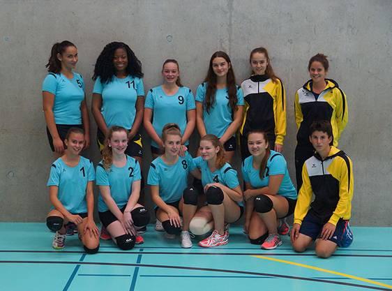 Die Juniorinnen U19 2. Liga erspielten sich einen hervorragenden 2. Tabellenrang in der Saison 17/18.