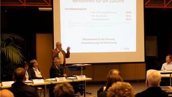 Der Wider Gemeinderat Hans Gysel erläuterte die Vorlage.