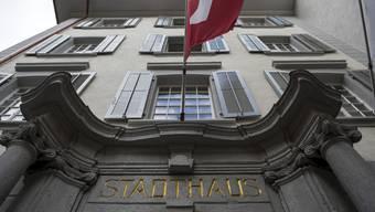 Das Stadthaus in Baden.