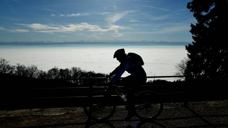 Die Zeichen stehen gut – nicht nur für normale Biker am Weissenstein.