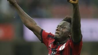 Sulley Muntari brachte Milan mit 1:0 in Führung