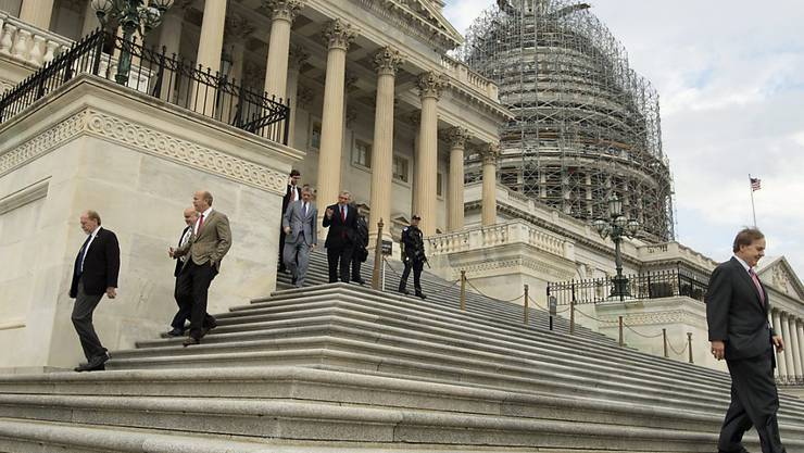 Das US-Repräsentantenhaus spricht sich mit grossem Mehr für eine härtere Gangart gegenüber Russland, Nordkorea und dem Iran aus. (Archivbild)