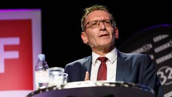Ständerat Pirmin Bischof (CVP): Angriff im Wahlkampf. (Archiv)
