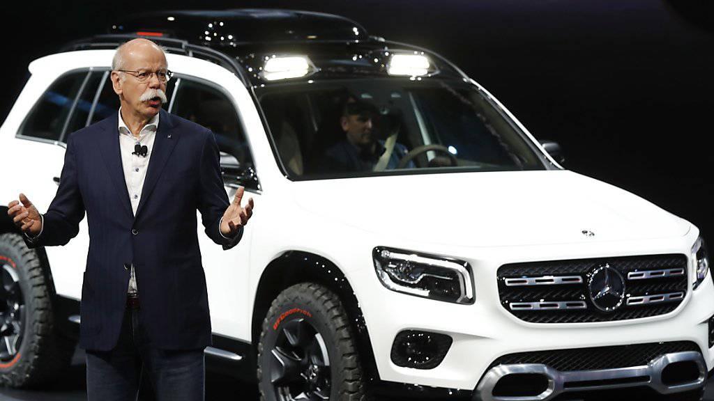 Generationenwechsel an der Daimler-Spitze: Dieter Zetsche tritt nach mehr als 13 Jahren im Amt ab. (Archivbild)