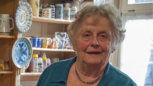 Lisbeth Gloor, dabei seit 1973