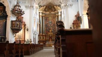 Solothurner Jesuitenkirche wird saniert