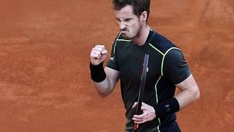 Nach Turniersiegen in München und Madrid zu müde: Andy Murray