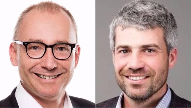 Markus Haas (FDP) und Sandro Sozzi (CVP) sind neue Gemeinderäte.