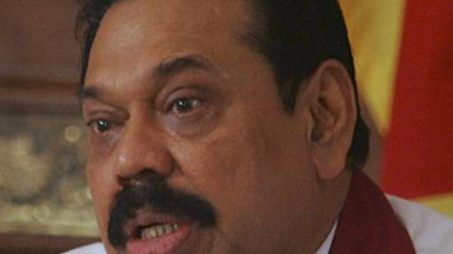Sri Lankas Präsident Mahinda Rajapaksa