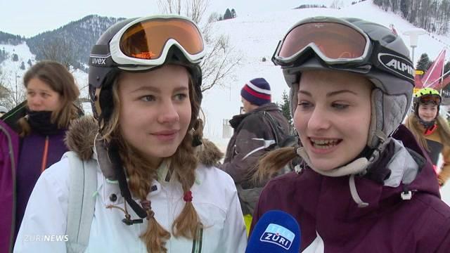 Zürcher stürmen Skigebiete