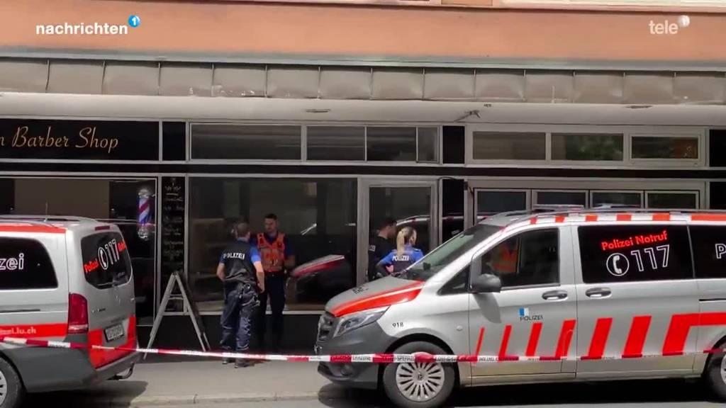 Polizeiaufgebot in Luzern