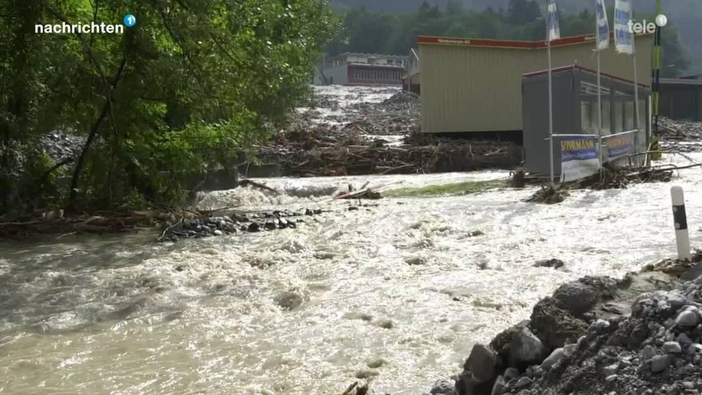 Hochwasserschutzprojekt im Nidwaldner Talboden