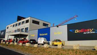 Die Eventhalle GoEasy in Siggenthal wird zur Sporthalle umgebaut. Archiv/Wal