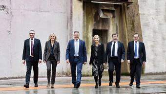 Der Solothurner Regierungsrat im Gleichschritt zur Steuerreform.