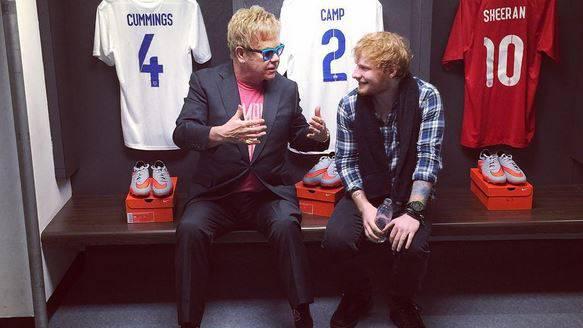 ED SHEERAN & sein Wembley-Wochenende