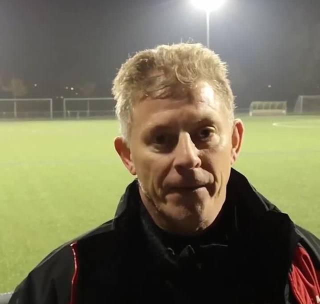 Trainer Charles Grütter nach der 1:2-Niederlage gegen Rapperswil-Jona