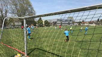 Bei diesem Prachtwetter war das Fussballcamp ein richtiger Erfolg.