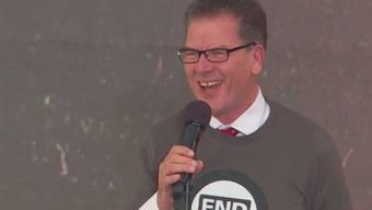 «Läts tscheinsch se wörld»: Die Ansprache des Bundes-Entwicklungsminister Gerd Müller am Global Citizen Day 2015.