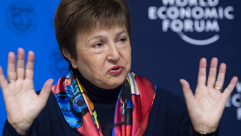 Die IWF-Chefin Kristalina Georgieva steht unter Druck. Sie soll veranlasst haben, einen Bericht zu China zu schönen. (Archivbild)