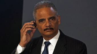 US-Justizminister Eric Holder droht indirekt der Credit Suisse