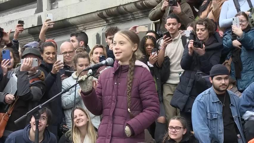 «Das ist erst der Anfang!» – Greta in Lausanne