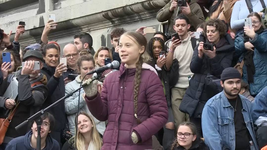 """Greta Thunberg am Klimastreik: """"Das ist erst der Anfang!"""""""