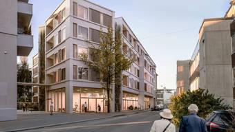 Südansicht des neuen Zentrums, dessen Bau 2024 abgeschlossen sein soll.