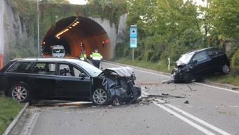 Frontalkollision in Bad Zurzach