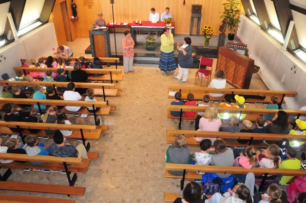 Der ökumenische Gottesdienst in der Bruder Klaus-Kirche bildete den Abschluss des Morgens.