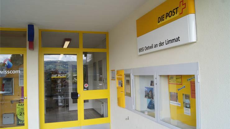 Vermutlich ab September bleiben die Türen der Poststelle geschlossen. kob