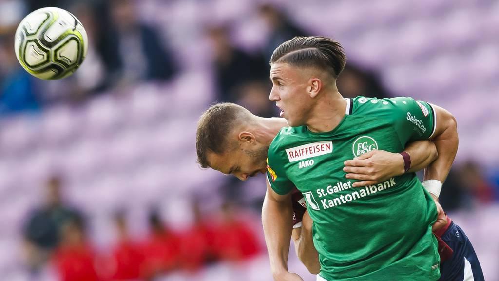St.Gallen siegt nach spannender Schlussphase gegen Servette